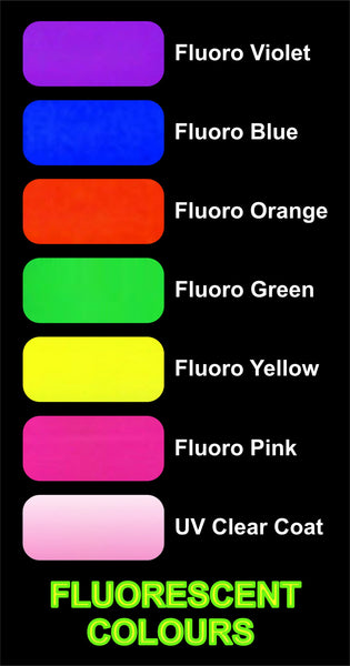 Airbrush Tattoo Ink - Fluro Colour Yellow