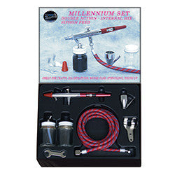 Paasche Millennium Airbrush Set #3. Double action Airbrush.