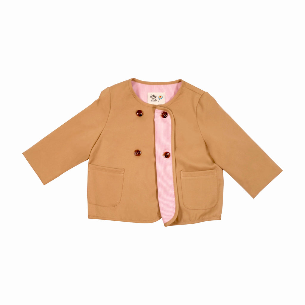 WSC Kit Button Jacket - whysocool