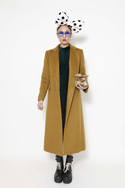 palmetto green woollen coat (special item) - whysocool