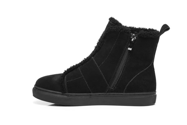 Fashion - AS UGG Side Zipper Ladies Mini Boots Nana #521001 (2132044120122)