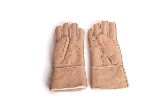 Gloves - UGG Stiching Gloves With Full Grain Leather ?id=14622751785018