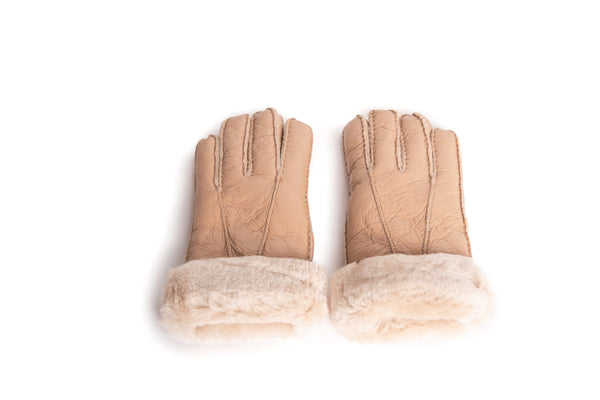 Gloves - UGG Stiching Gloves With Full Grain Leather ?id=14622752047162