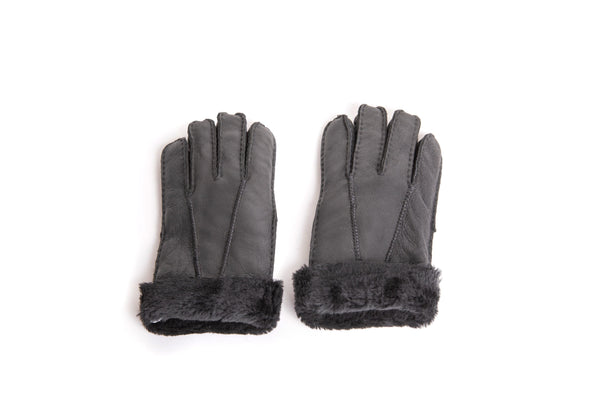Gloves - UGG Stiching Gloves With Full Grain Leather ?id=14622750900282