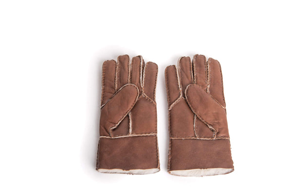 Gloves - UGG Stiching Gloves With Full Grain Leather ?id=14622750933050