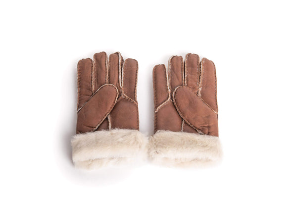 Gloves - UGG Stiching Gloves With Full Grain Leather ?id=14622751457338
