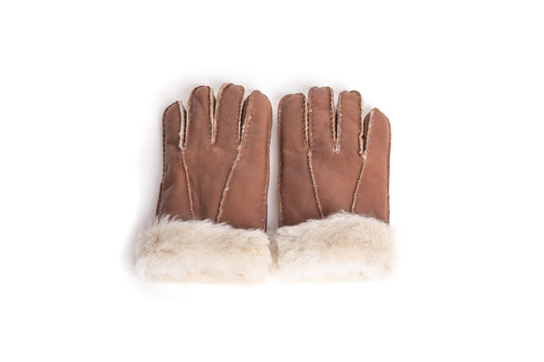 Gloves - UGG Stiching Gloves With Full Grain Leather ?id=14622751555642