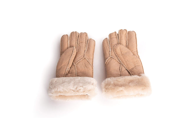 Gloves - UGG Stiching Gloves With Full Grain Leather ?id=14622751588410