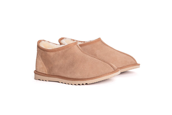 AS Australian Made Double-face Sheepskin Mens UGG Slipper
