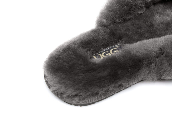 Slippers - AS UGG Women Fluffy Slides Thongs Cinderella ?id=14128840245306