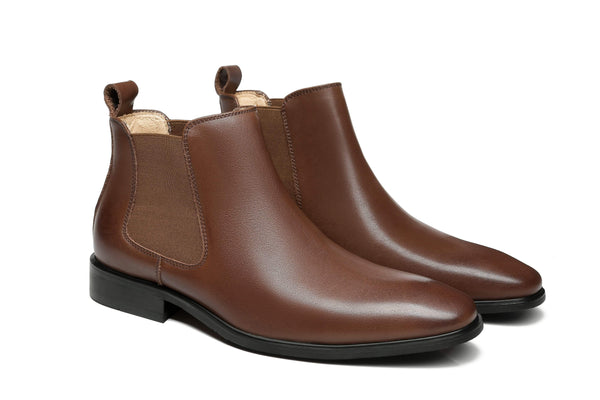 AS Men's Casual Mini Leather Boots Jeremy