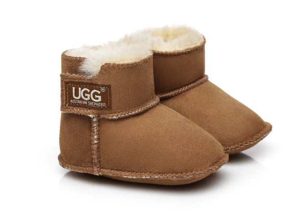 AS UGG Australian Sheepskin Baby Erin Bootie Cradle