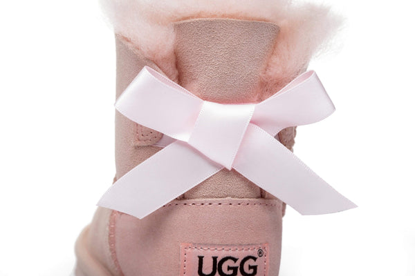 UGG Boots - AS UGG Kids Mini Back Bow Boots