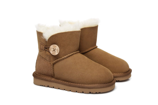 AS UGG Kids Mini Button Boots