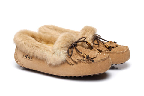 Ladies Tassel Sule Moccasin