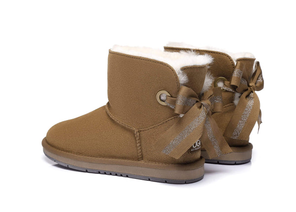 AS UGG Mini Boots Irene with Bailey Bow (2444385419322)