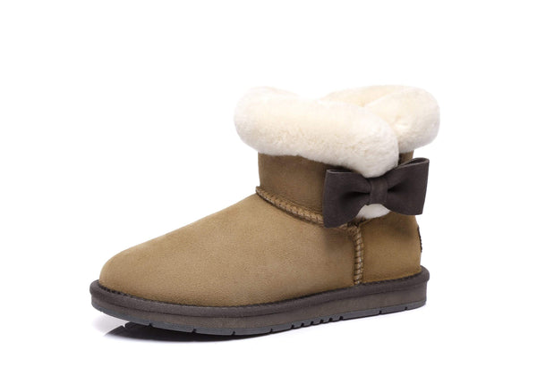 AS UGG Boots Mini Side Bow Carlin (2454671065146)
