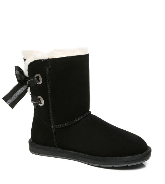 UGG Boots - AS UGG Short Boots Basia With Bailey Bow ?id=14591252693050