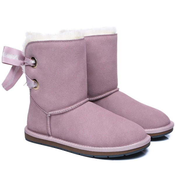 UGG Boots - AS UGG Short Boots Basia With Bailey Bow ?id=14591251710010