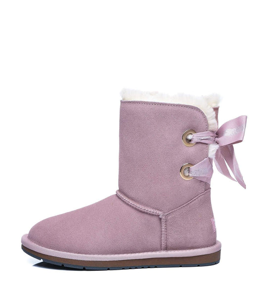 UGG Boots - AS UGG Short Boots Basia With Bailey Bow ?id=14591251742778