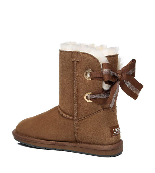 UGG Boots - AS UGG Short Boots Basia With Bailey Bow ?id=14591252168762