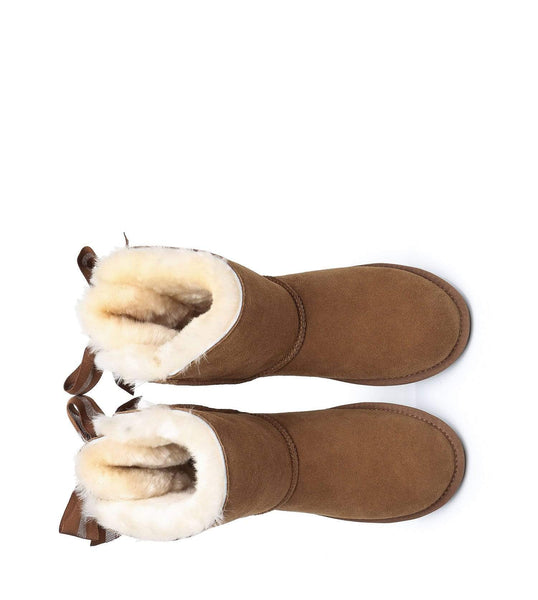 UGG Boots - AS UGG Short Boots Basia With Bailey Bow ?id=14591252201530