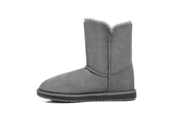UGG Boots - AS UGG Short Button Boots #15802 (7188435655)