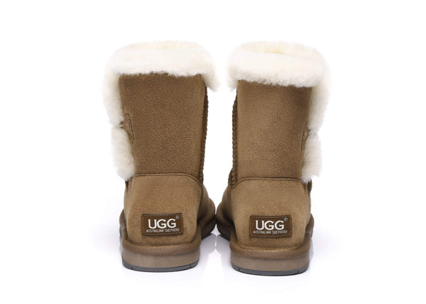 AS UGG Short Button Boots Alva