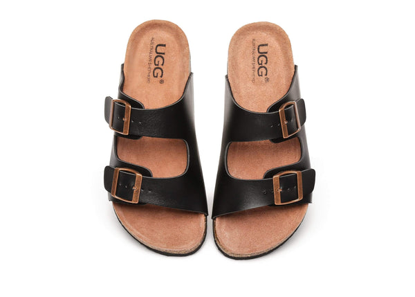 UGG Boots - AS UGG Summer Unisex Beach Slip-on Flats Scandals Mick