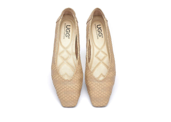 AS UGG Women Flat Shoes Serena