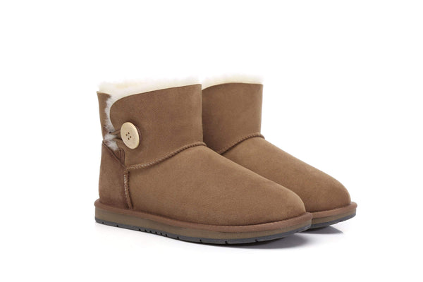 UGG Boots Australia Premium Double Face Sheepskin Mini Button,Water Resistant #15702 (7188435015) ?id=13198984839226