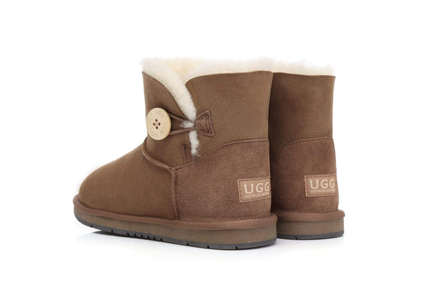 UGG Boots Australia Premium Double Face Sheepskin Mini Button,Water Resistant #15702 (7188435015) ?id=13198985527354