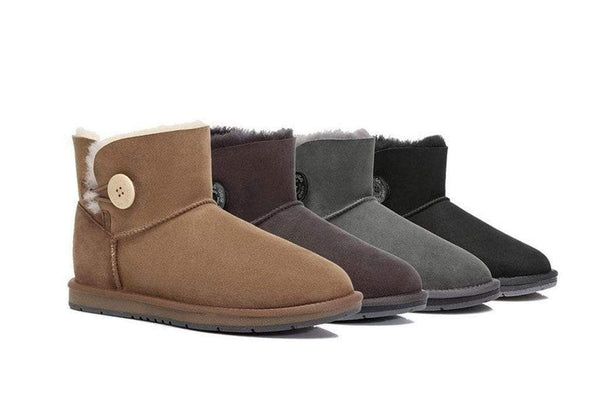 UGG Boots Australia Premium Double Face Sheepskin Mini Button,Water Resistant #15702 (7188435015) ?id=13198983561274