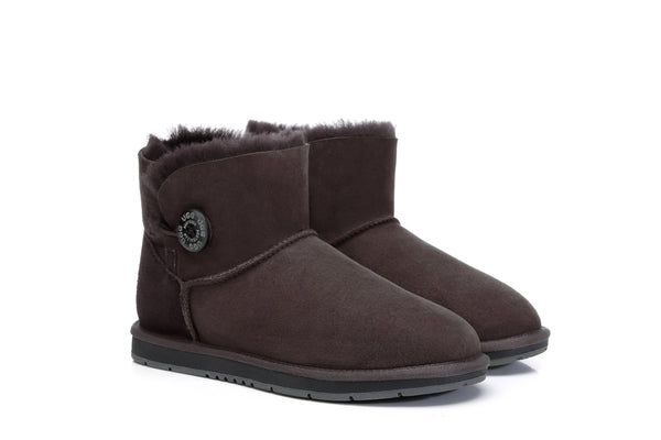 UGG Boots Australia Premium Double Face Sheepskin Mini Button,Water Resistant #15702 (7188435015) ?id=13198985658426