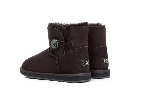 UGG Boots Australia Premium Double Face Sheepskin Mini Button,Water Resistant #15702 (7188435015) ?id=13198985691194