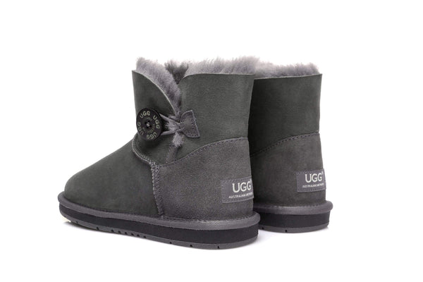 UGG Boots Australia Premium Double Face Sheepskin Mini Button,Water Resistant #15702 (7188435015) ?id=13198984511546