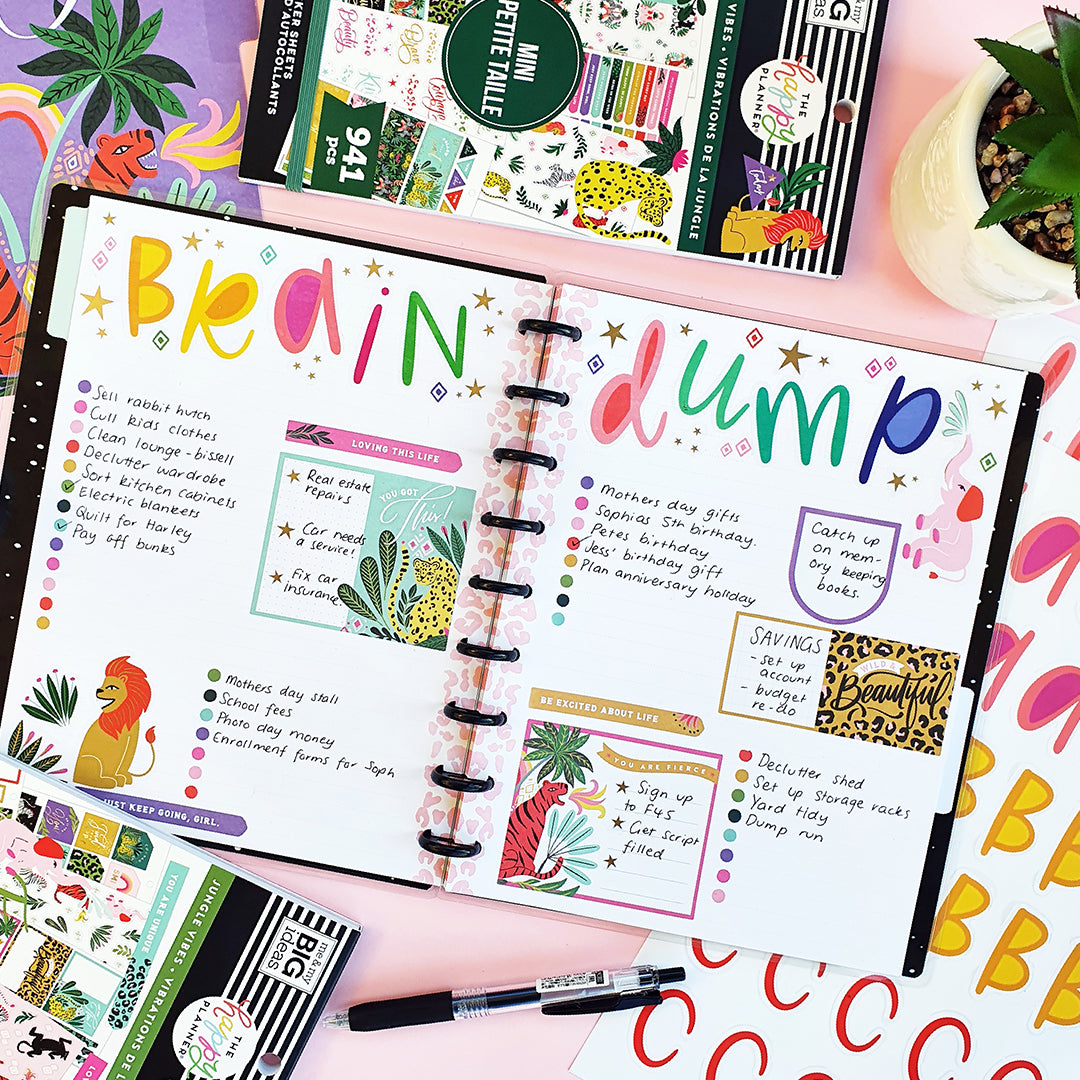 WashiGang Blog Post Happy Planner Anges Plans