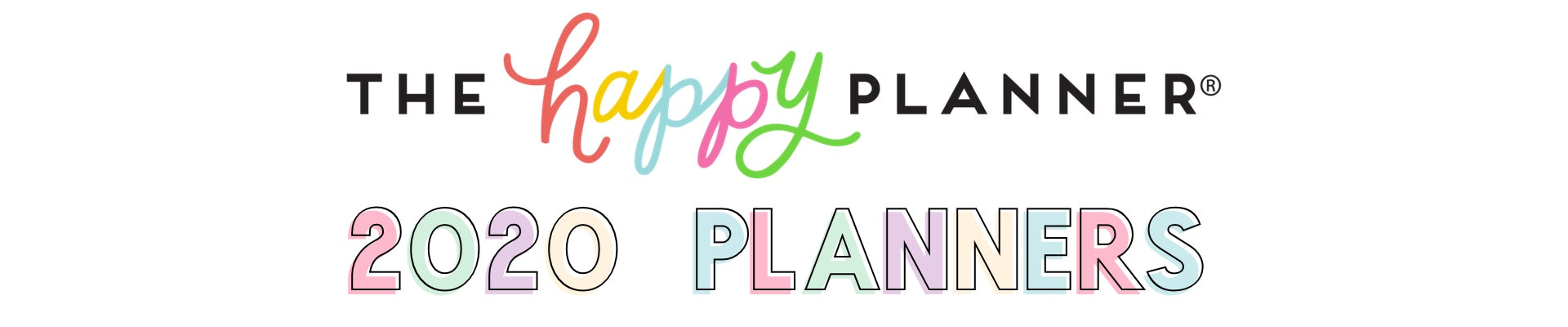 2020 HAPPY PLANNERS