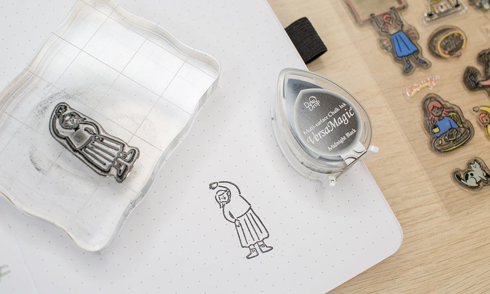 Clear Stamps how to use WashiGang