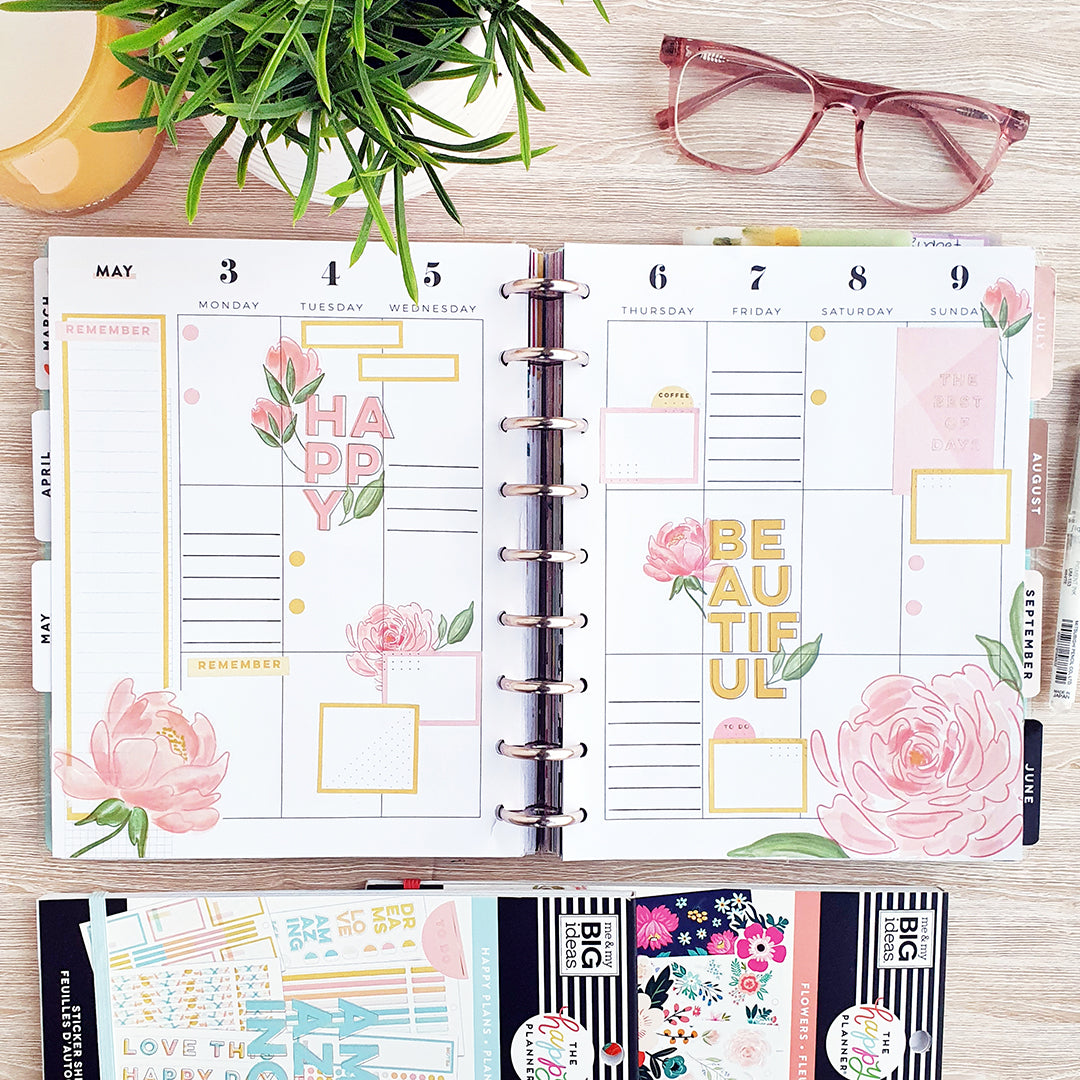 Happy Planner Anges Plans Blog WashiGang