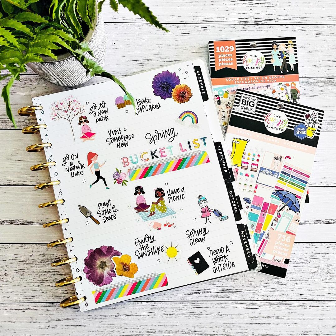 Spring Bucket List - Pages By KC