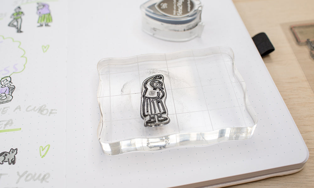 How to use clear stamps WashiGang Blog