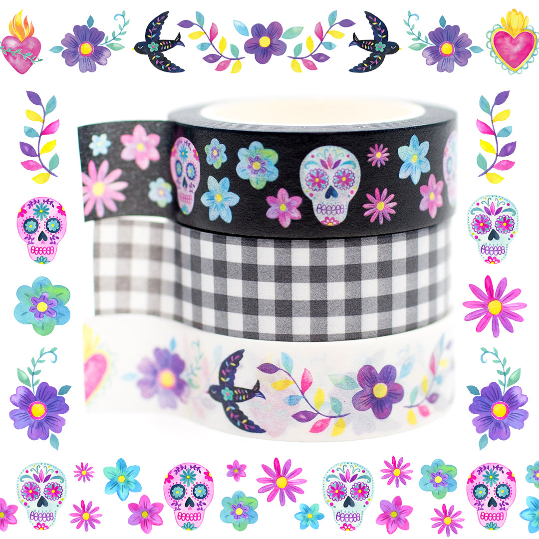 Day of the dead washi tape WashiGang