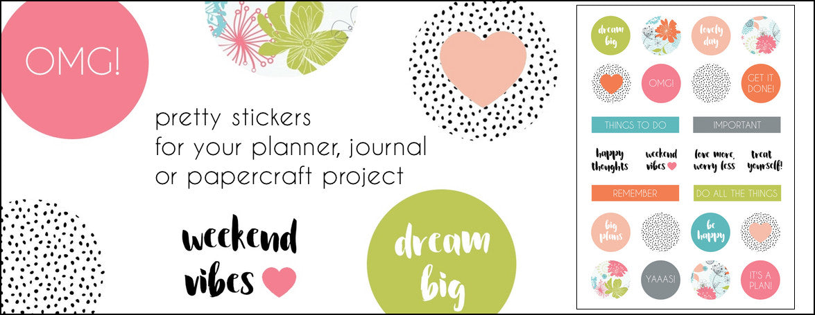 PLANNER STICKERS - FREE STICKERS - DOWNLOADABLE STICKERS - PRINTABLE STICKERS - WASHIGANG AUSTRALIA