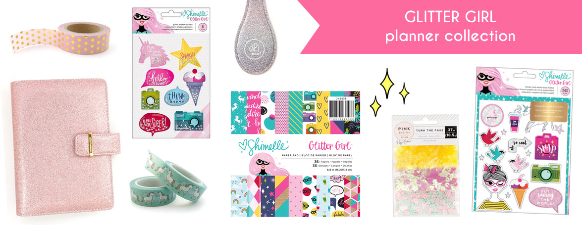 GLITTER GIRL PLANNER COLLECTION