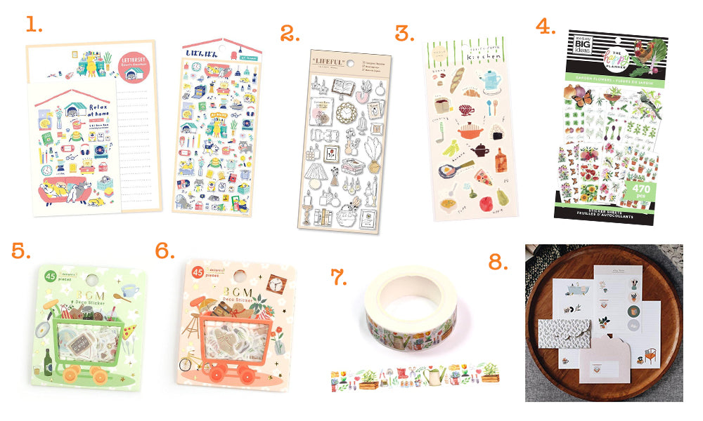 Home and Garden Stationery