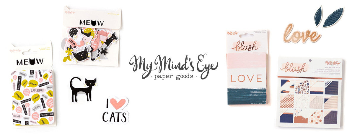 MY MIND'S EYE PAPER GOODS - WASHIGANG AUSTRALIA