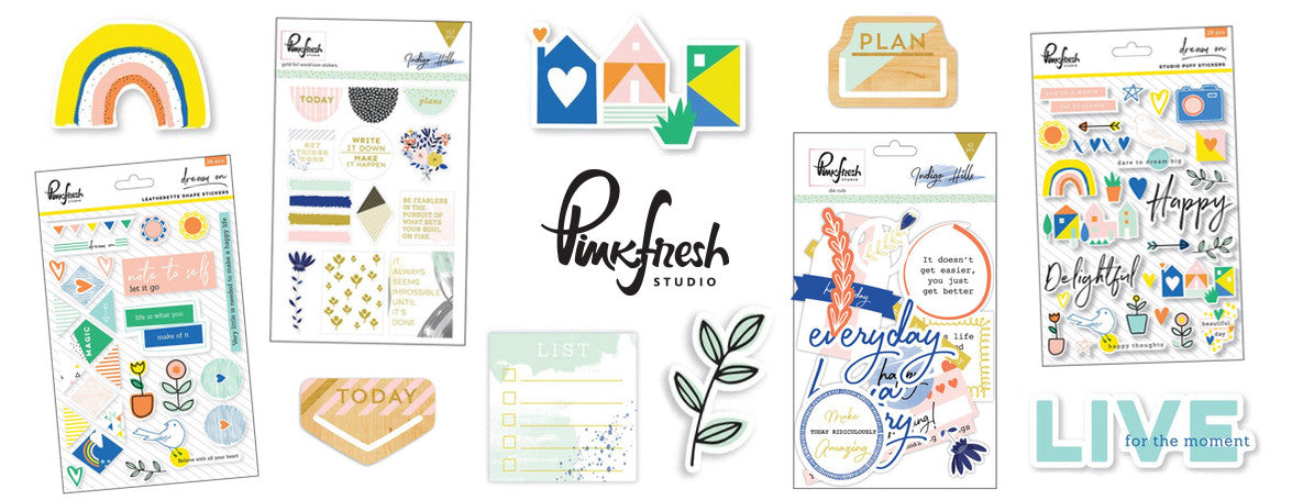 PINKFRESH STUDIO - PAPERCRAFT SUPPLIES - WASHIGANG AUSTRALIA