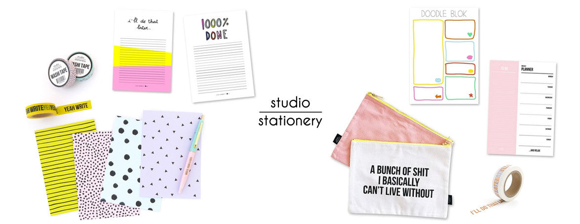 CUTE STATIONERY, WASHI TAPE & MORE FROM DUTCH DESIGNERS STUDIO STATIONERY - WASHIGANG