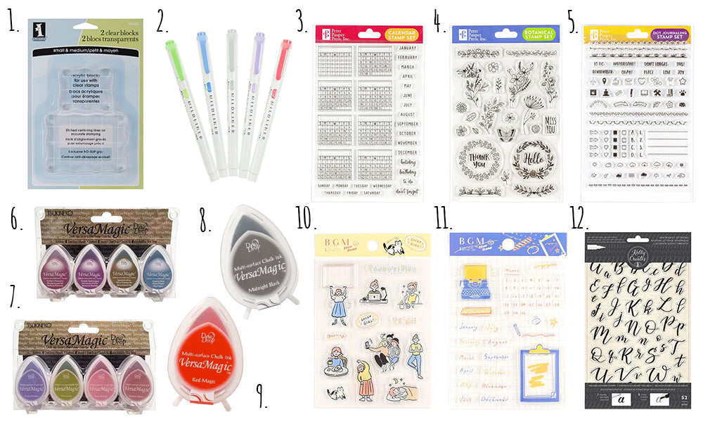 Clear Stamp essentials WashiGang